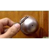 abertura de fechaduras simples Nova Sousas