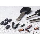 chave codificada com transponder ou chip orçamento Terminal Intermodal de Cargas