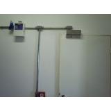 instalação de fechadura magnética