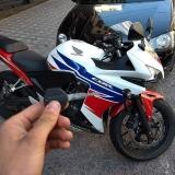 troca de segredo moto